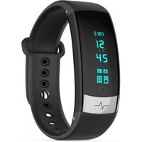 QS03 ECG Smart Bracelet Touch Sports Wrist Watch Heart Rate Blood Pressure Monitoring - Black
